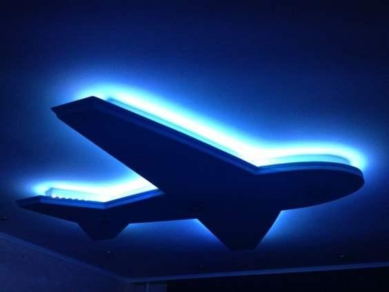 Подсветка потолка. Новые возможности, способы, материалы